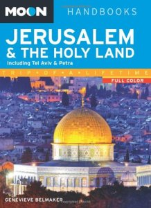 Moon Jerusalem and the Holy Land